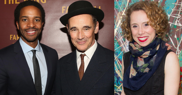 André Holland, Mark Rylance and Michelle Terry