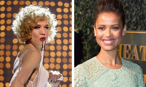 Renée Zellweger as Roxie Hart and Gugu Mbatha-Raw