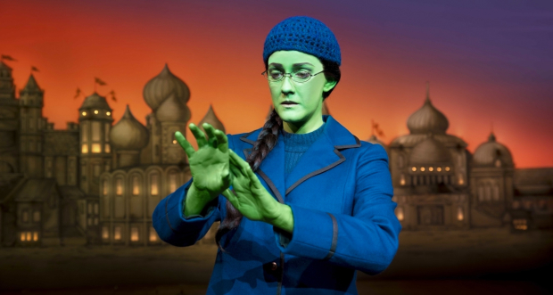 Alice Fearn as Elphaba