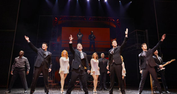 The cast of The Jersey Boys
