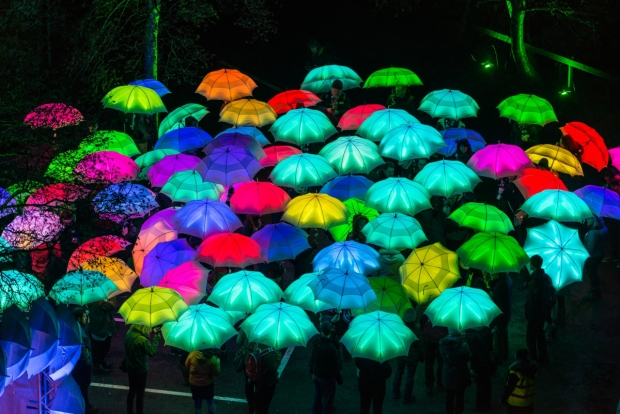 Th​e Umbrella Project​ by Cirque Bijou (UK), Mayfair, Regent Street, Piccadilly, Fitzrovia and Victoria