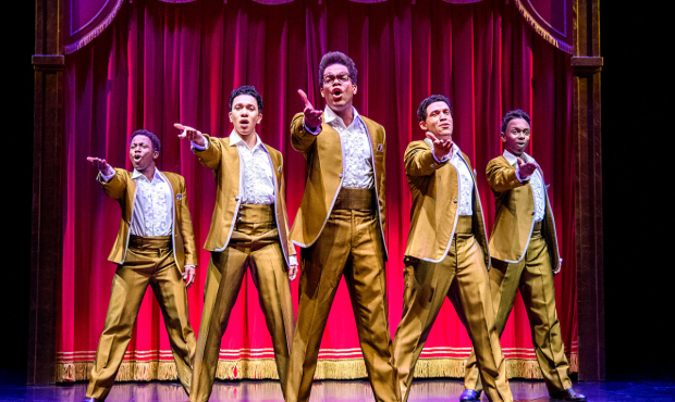 The West End cast of Motown