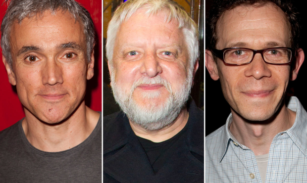 Ben Miles, Simon Russell Beale and Adam Godley