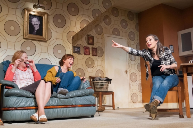 Deirdre Davis Lucianne McEvoy and Scarlett Mack in Bold Girls
