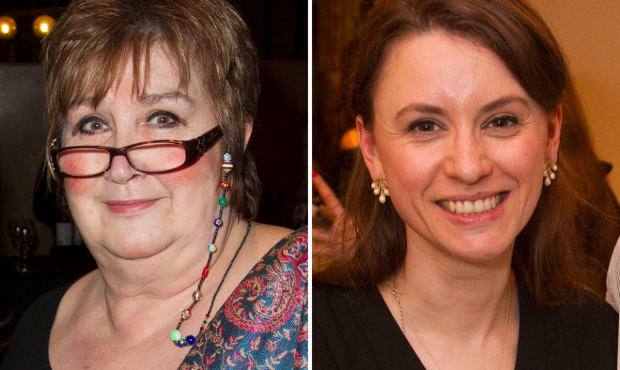Jenni Murray and Lucy Kerbel