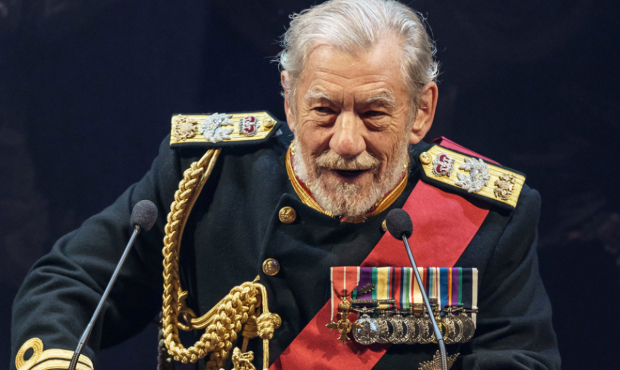 Ian McKellen in the Chichester production of King Lear