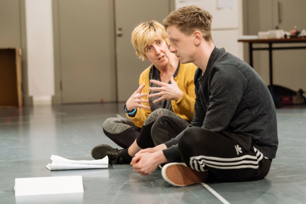 Julie Hesmondhalgh and Mike Noble in The Almighty Sometimes