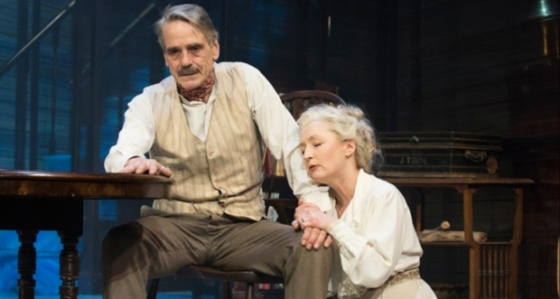 Jeremy Irons and Lesley Manville in Long Day's Journey Into Night