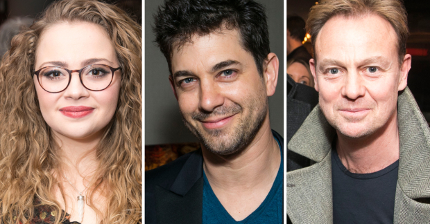 Carrie Hope Fletcher, Adam Garcia and Jason Donovan