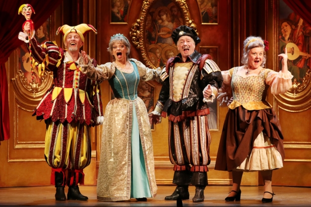 Paul Nicholas, Sue Holderness, Jeff Rawle and Wendi Peters in Quartet