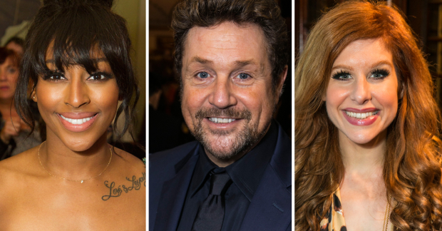 Alexandra Burke, Michael Ball and Cassidy Janson