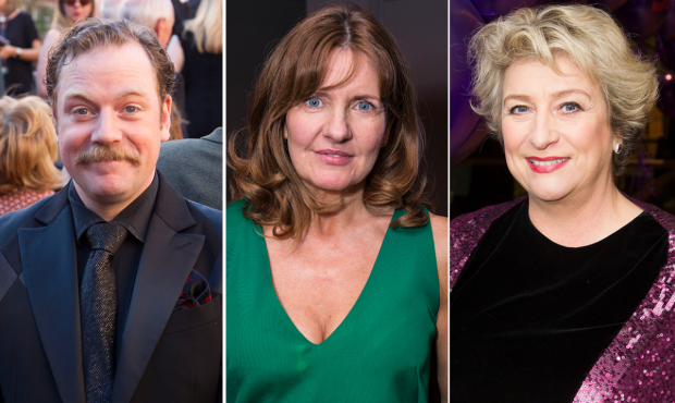 Rufus Hound, Clare Burt and Caroline Quentin will star in the new season