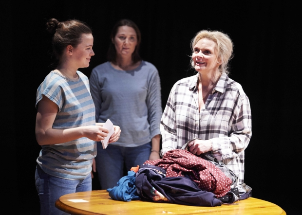 Alaïs Lawson (Lydia), Ruth Gemmell (Herself) and Sharon Small (Alice) in Still Alice