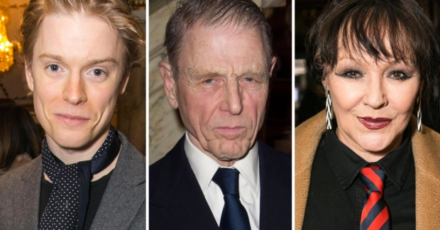 Freddie Fox, Edward Fox and Frances Barber