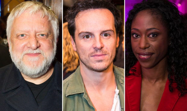 Simon Russell Beale, Andrew Scott and Nikki Amuka-Bird