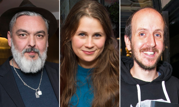 Jez Butterworth, Lucy Kirkwood and Jack Thorne