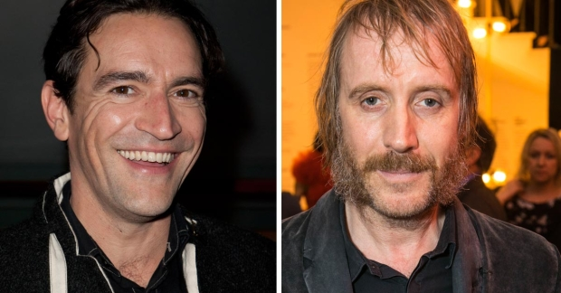 Ben Chaplin and Rhys Ifans