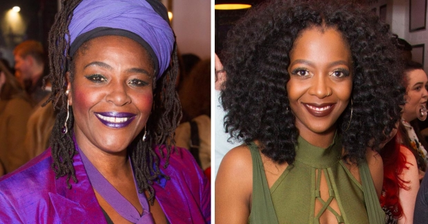 Sharon D Clarke and T'Shan Williams