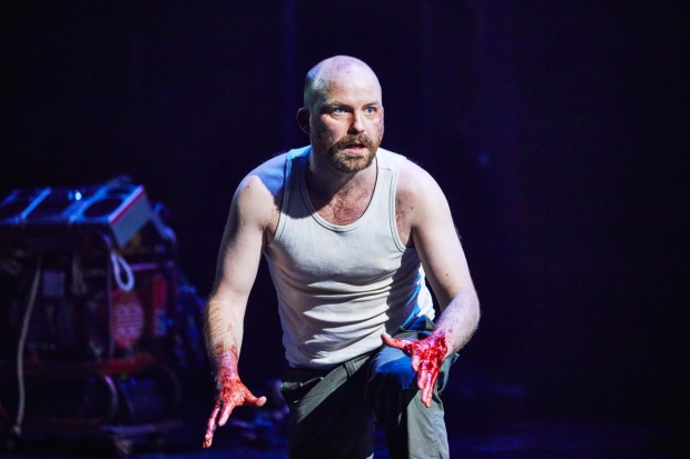 Rory Kinnear in the National Theatre's Macbeth