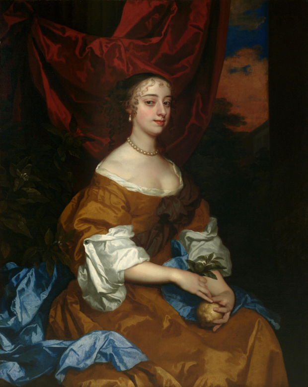 Peter Lely's portrait of Margaret Hughes