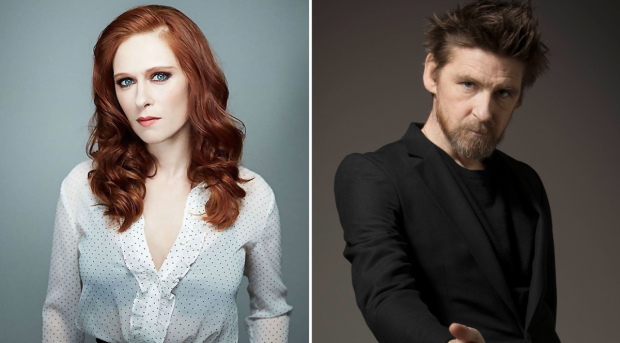 Audrey Fleurot and Paul Anderson