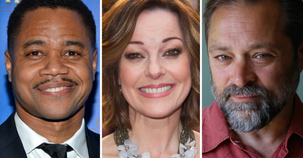 Cuba Gooding Jr, Ruthie Henshall and Paul Rider
