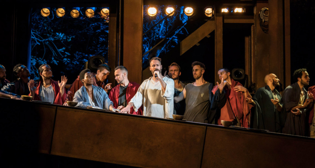 The cast of the 2016 production of Jesus Christ Superstar