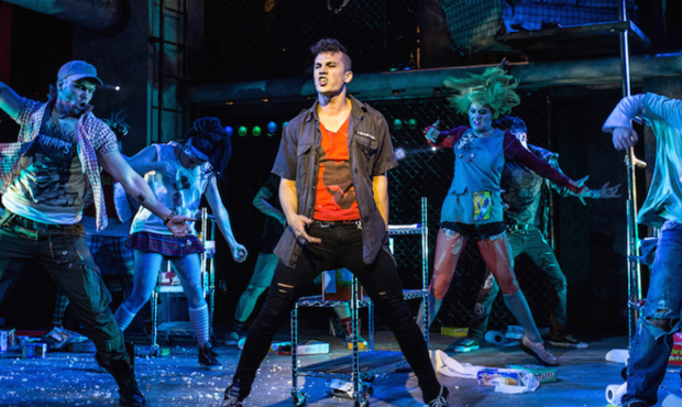 The West End production of We Will Rock You
