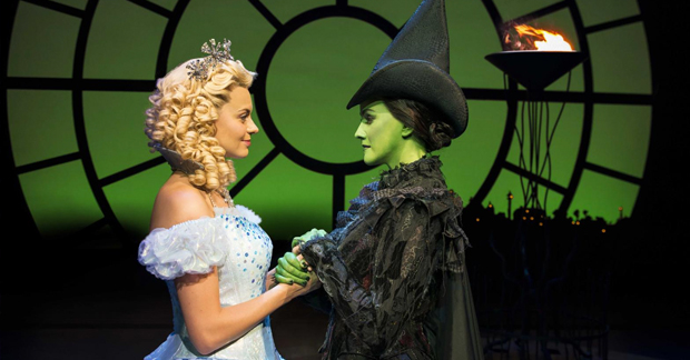 Sophie Evans and Alice Fearn in Wicked