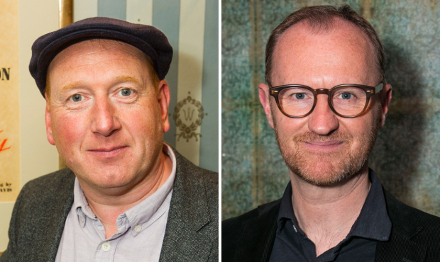 Adrian Scarborough and Mark Gatiss