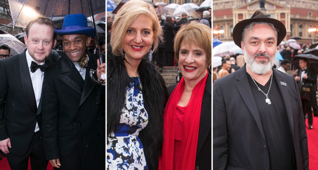 Michael Jibson, Jason Pennycooke, Marianne Elliott, Patti LuPone and Jez Butterworth