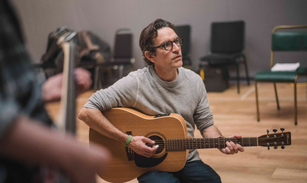 Ben Chaplin in rehearsals for Mood Music