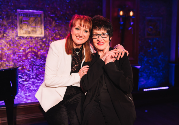 Caroline O'Connor and Chita Rivera