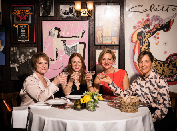 Patti LuPone, Rosalie Craig, Marianne Elliott and Mel Giedroyc at the launch of Heathers