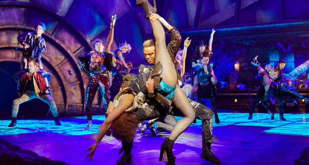 Danielle Steers and Wayne Robinson in Bat Out of Hell