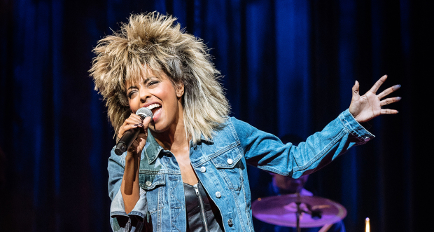 Adrienne Warren as Tina Turner in Tina the Musical