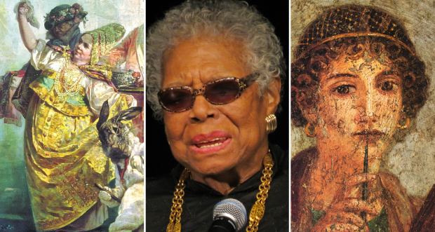 Anna Ivanovna, Maya Angelou and Sappho