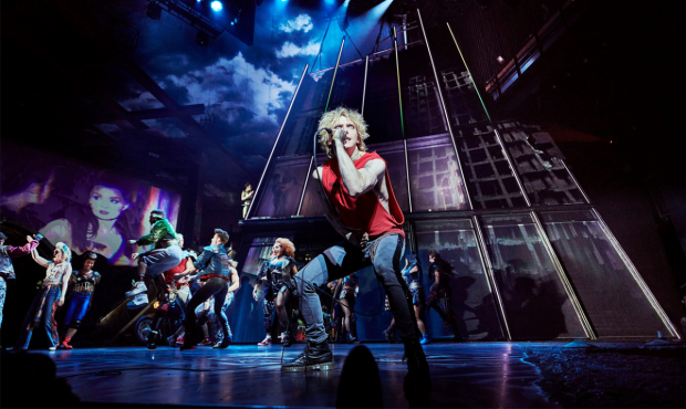 Andrew Polec and the company of Bat Out of Hell