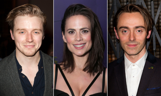 Jack Lowden, Hayley Atwell and David Dawson