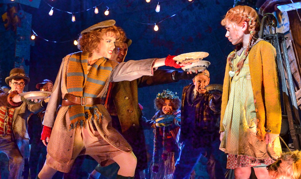 The West End production of Annie