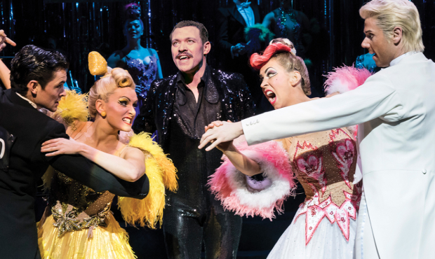 Jonny Labey, Lauren Stroud, Will Young, Michelle Bishop and Gary Watson in Strictly Ballroom