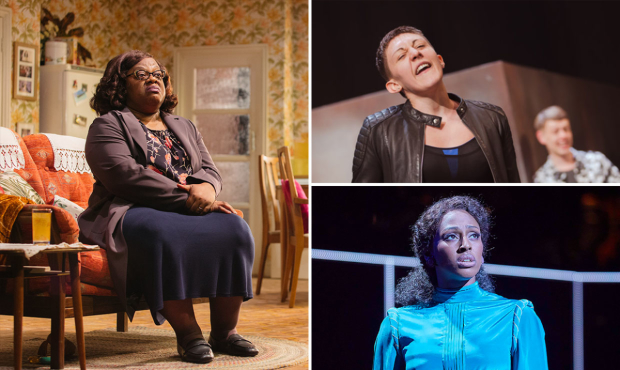 Cecilia Noble in Nine Night, Charlotte Josephine in Romeo and Juliet and Alexandra Burke in Chess