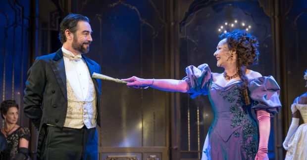 Nathaniel Parker and Frances Barber