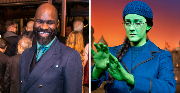 Chris Jarman, Alice Fearn (Elphaba)