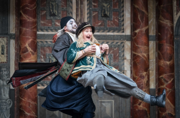 Luke Brady and Sarah Finigan in Twelfth Night