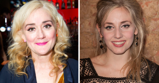 Sophie Thompson and Sinead Matthews