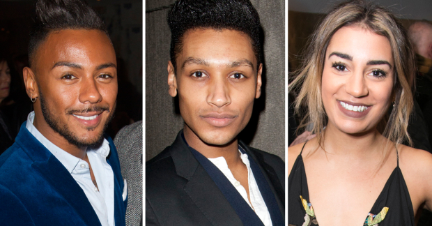 Marcus Collins, Arun Blair-Mangat and Lucie Shorthouse