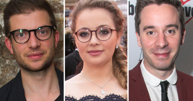 Jamie Lloyd, Carrie Hope Fletcher and James Graham