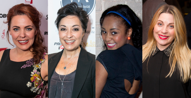 Rachel Tucker, Ria Jones, Alexia Khadime and Louise Dearman