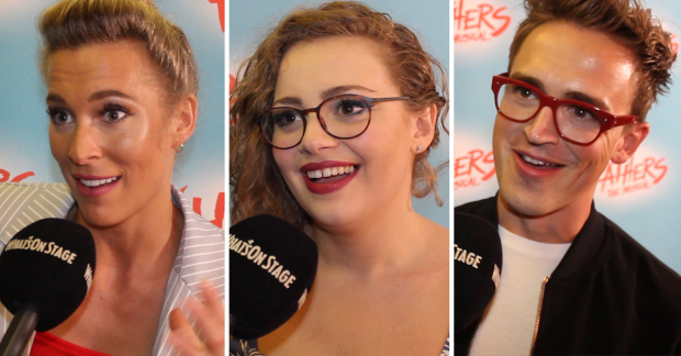 Jodie Steele, Carrie Hope Fletcher and Tom Fletcher